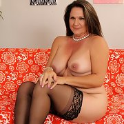 Mature Brunette Laylani Wood Loves To Display Her Assets