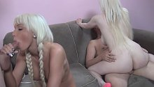 3:25 Party With Rikki Six 3 with Rikki Six, Kristy Snow