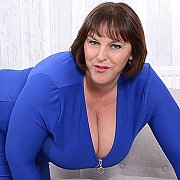 Huge Breasted British Housewife Playing With Herself with Carol Brown