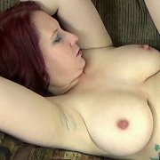 Busty Redhead Gets Her Twat Stuffed with Lia Shayde