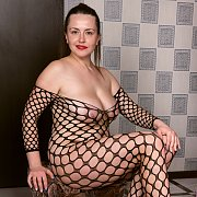Fishnet Bodystocking with Animee