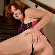 Staircase Redhead with Andi James