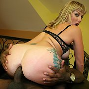 Blonde Gets Her Ass Pounded By A BBC with Adrianna Nicole