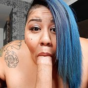 POV Blowjob with Crystal Blue
