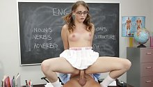 3:08 Corrupt School Girls 9 with Nickey Huntsman