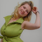 Green Dress with Mim Turner