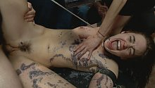 2:56 Dirty Whore Gets Hosed Down And Humiliated with Jodi Taylor