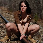 Naked On The Tracks with Emily Love