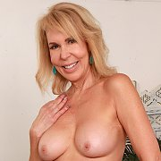 Cock Hungry Mature Slut Shows Her Old Tits And Meaty Pussy with Erica Lauren