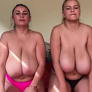 Boob Bouncing Sisters with Erin Star, Helen Star