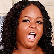 Ebony BBW Shows Her Big Boobs N Juicy Pussy with Olivia Leigh