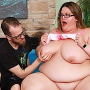 Fat N Horny BBW Enjoys Pussy Pounding with Erin Green