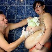 Breast Fan Boob Massage with Nina Doll
