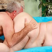 Sexy Mature BBW Gets Her Pussy Filled With Cock with Lady Lynn