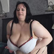 Stuffing BBW Boobs in Tops with Sunniva Lind