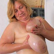 Slippery Boobs Massage with Betsy