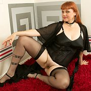 Sexy Redhead with Velvetina Fox