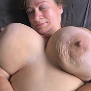 Gyrating On Back Jiggle Show with Betsy
