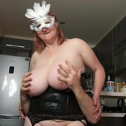 Rough Tit Play and Grabs with Linda