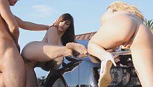 3:27 Fantasies Come True with Holly Michaels, Natalia Starr