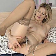 Stockings and String with Diana V