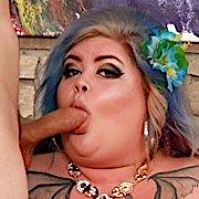 Horny BBW Enjoys A Hard Dick with Sasha Syren