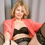 Sultry Stockings with Diana V