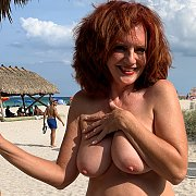 Nude On The Beach with Andi James