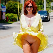 Redhead In Yellow with Andi James