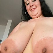 Slamming Big Tits in Your Face with Amanzia