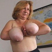 Blonde Milf Tits On Display with Betsy