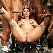 Black Cars, Cock & Cum with Ivy Lebelle