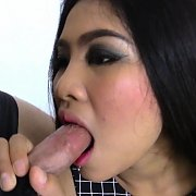 Chubby Thai Stunner's Hotel-Room Sex with Honey