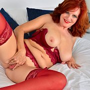 Mature Beauty with Andi James