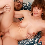 Sexy Old Woman Gets Her Pussy Filled: The Movie with Babe Morgan