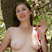 Forest MILF with Olivia Johnson