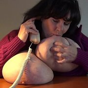 Phone Sex and On Back Jiggle Show with Suzie Q