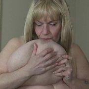 Sexy Milf Panty Hose Tit Sucks with Suzie Q