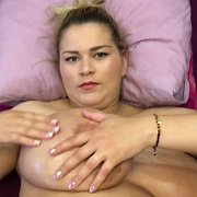 Baby Oil On Back Jiggle Show with Erin Star