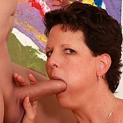 Mature Brunette Gets Fucked Good with Beth McKenna