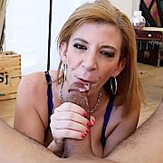 Blowing A Big King Cock with Sara Jay