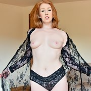 Lacy Sheer And Black with Sonia Harcourt