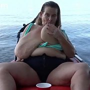 Busty Boat Boob Play with Sarah