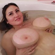 Bath Boobs Bobbing with Ivanna Lace