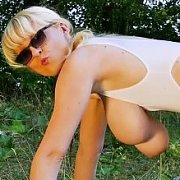 Pussy Play in the Woods with Casey Deluxe