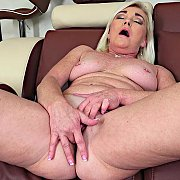 Mature Blonde MILF with Paris Rose