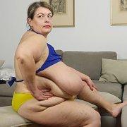 Fantastical Giant Breasts in Bikini Top with Pauline