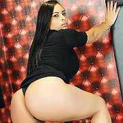 Horny Plumper Gets Naked with Gabriela Ramos