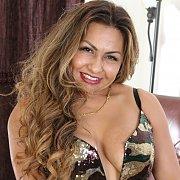 Beautiful Latina with Roxy Rocks