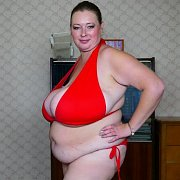 Red Bikini Tryout with Lily Drambue